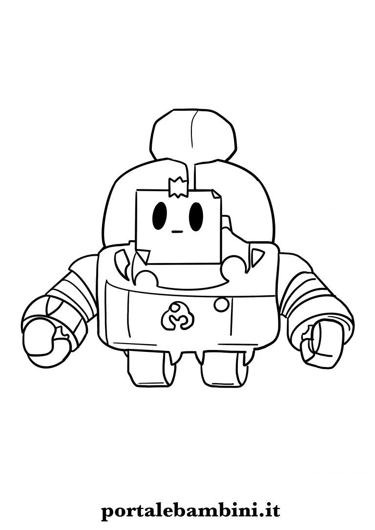 Brawl Stars Free Coloring Pages Portalebambini Com Star Coloring Pages Free Coloring Pages Star Doodle