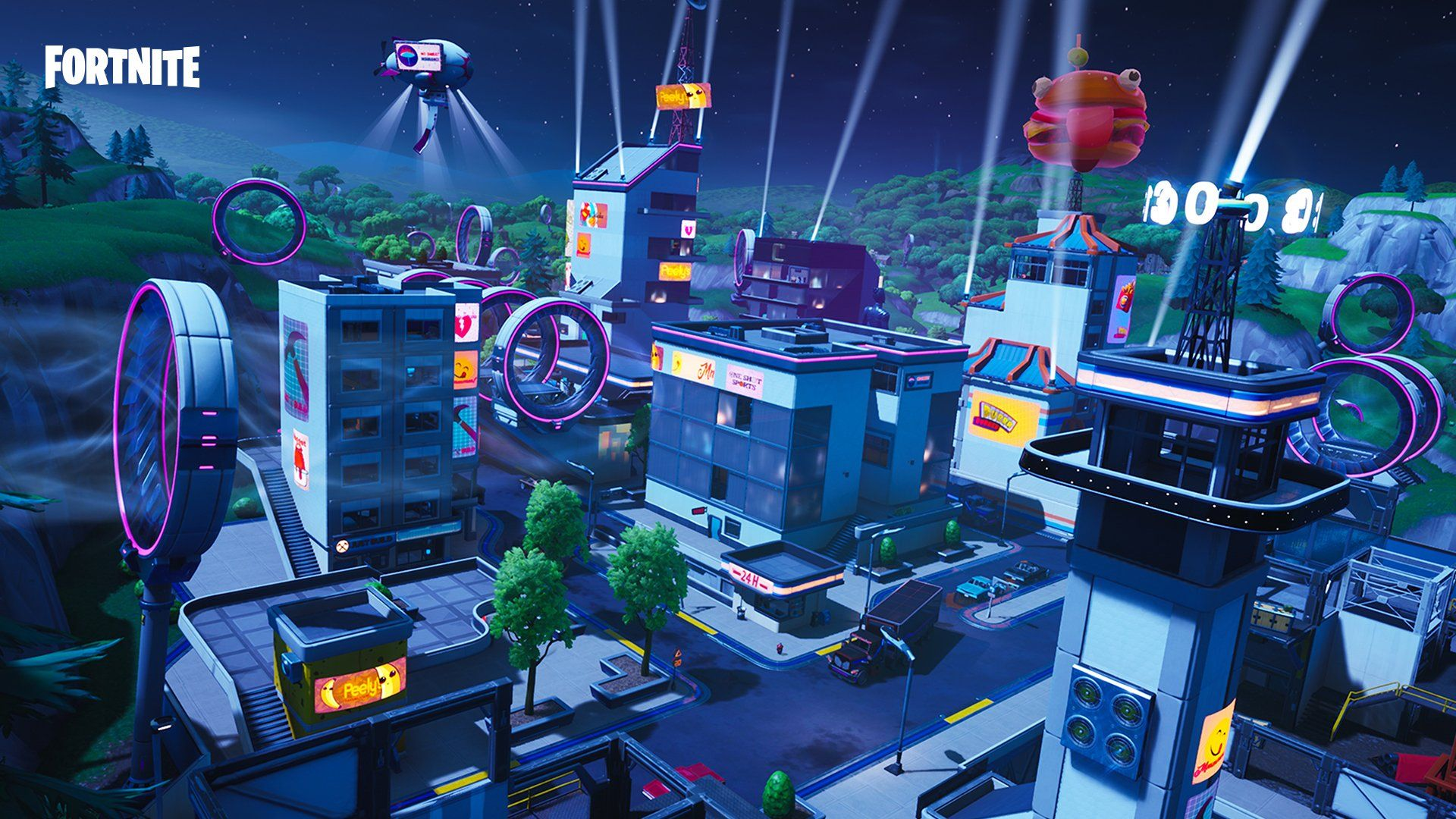 Fortnite On Twitter Fortnite Sci Fi City Battle Royale Game
