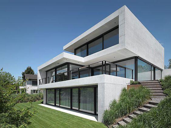 Resultado de imagem para herrliberg house pinterest haus haus architektur and architektur - Minimalistische einrichtungsideen ...