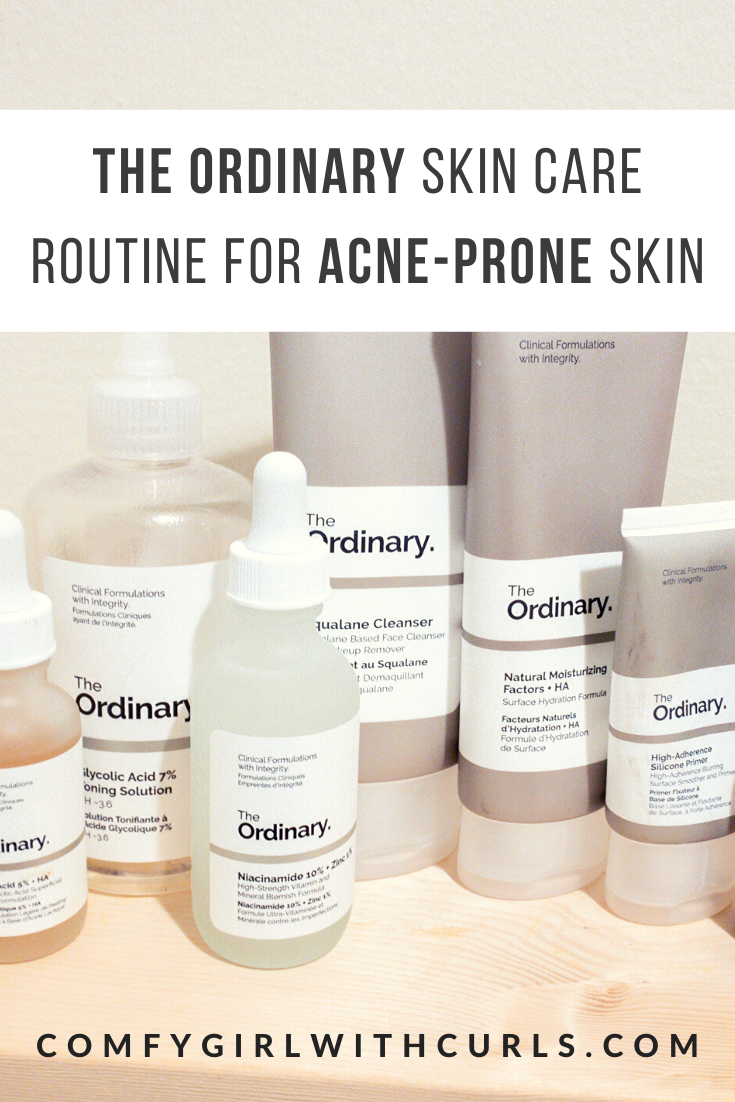 The Ordinary Regimen For Brown, AcneProne Skin The