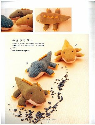 Pattern And Instructions Plushie Patterns And Ideas Sewing