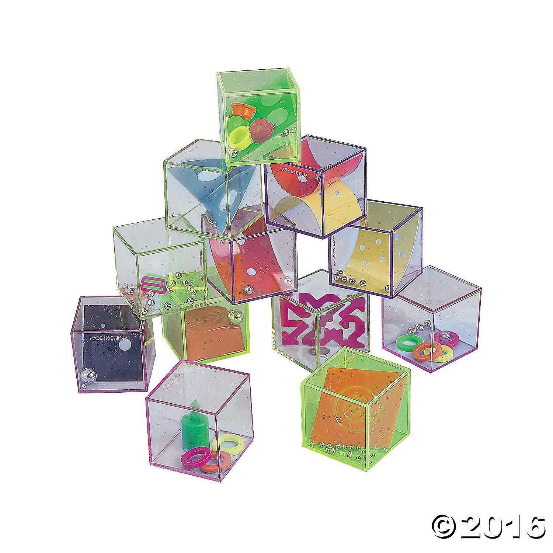Glitter Cube Mind Teasers - OrientalTrading.com