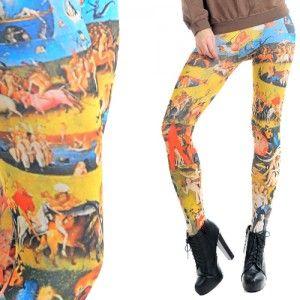Leginsy Z Nadrukiem Bosch 01 Legging Leggings Pants