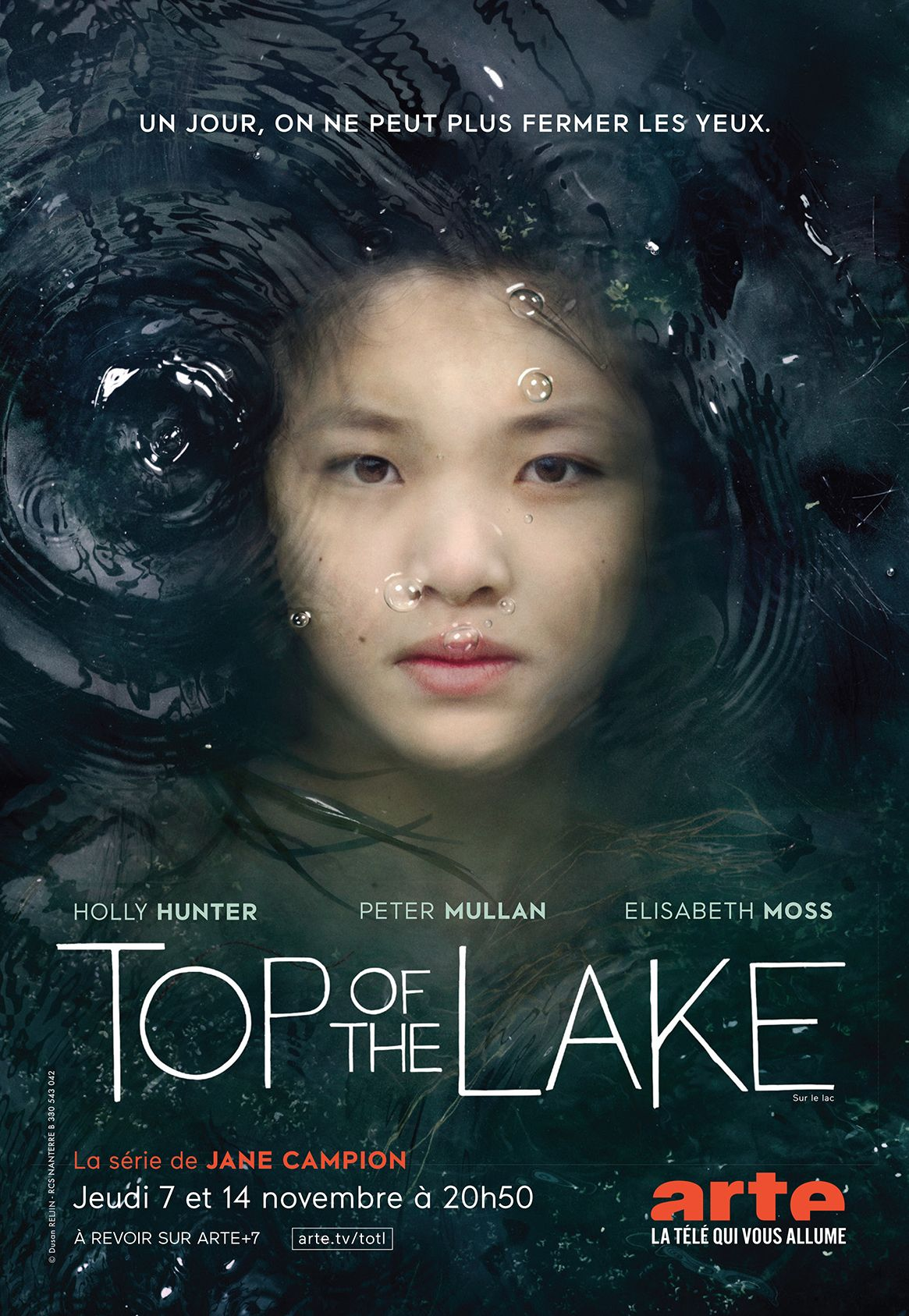 Arte Tv 7 Arte Top Of The Lake Poster Tv Film Tv Theatre
