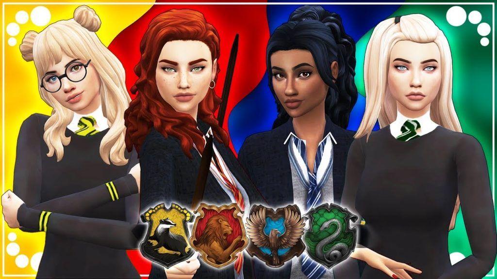 HOGWARTS HOUSES (HARRY POTTER) 63 CC LINKS The Sims 4 Create