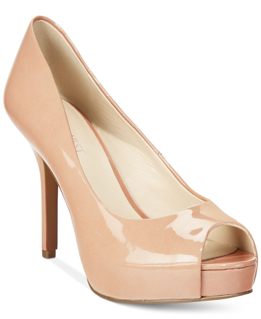 d789349a1d34 Nine West Qtpie Peep-Toe Pumps