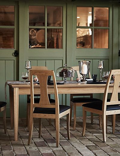 Burchill Rectangular Extending Dining Table  M&s  Dining Room New Marks And Spencer Dining Room Furniture Design Inspiration