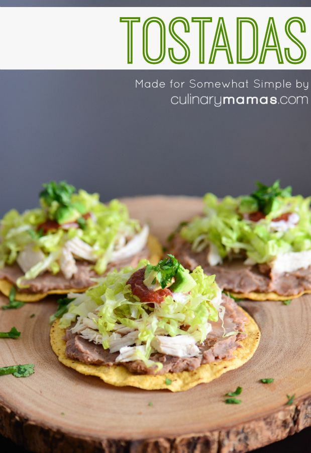 tostadas recipe - perfect for cinco de mayo! #dinnerideas