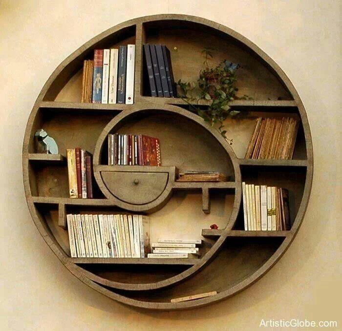 huge discount 843e1 4cad6 Circular bookshelf | جاكتابى | Shelves, Cool shelves ...