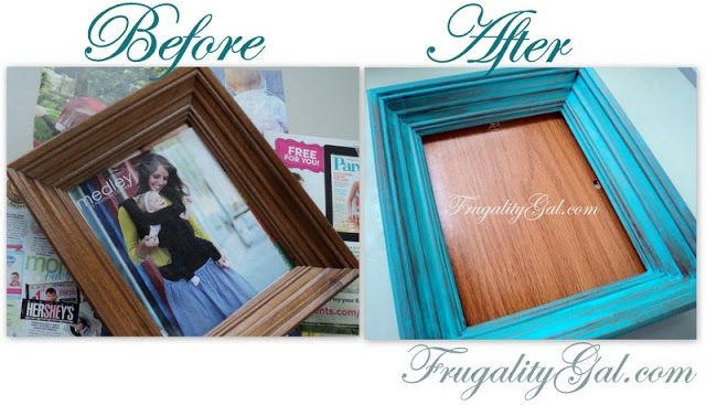 images about diy distressed frames distressed - Distressed Picture Frames