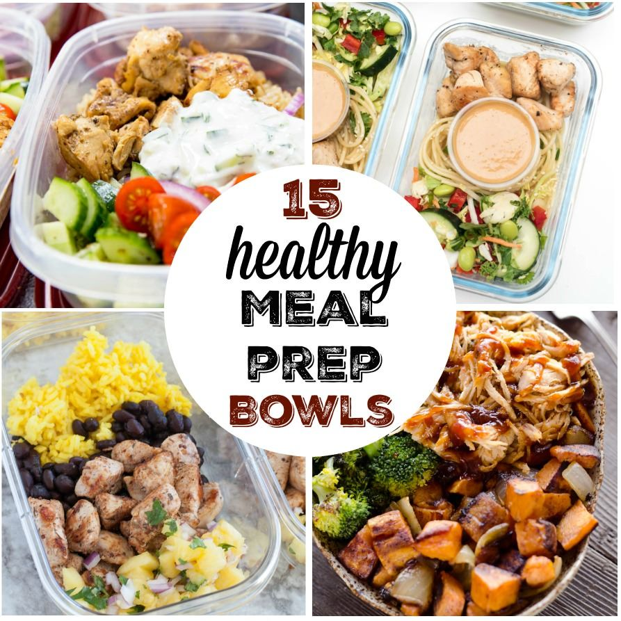 Delicious And Healthy Meal Prep Bowl Ideas To Make Lunch Dinner Planning So Easy