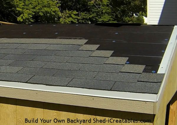 How To Roof A Shed Roofing A Shed Building A Shed Installing Roof Shingles Shed Interior