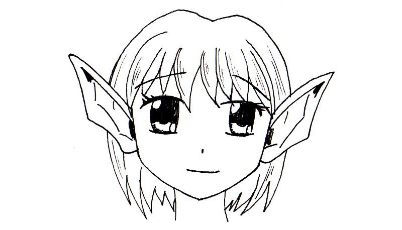 Apprendre A Dessiner Les Elfes Manga Recherche Google En
