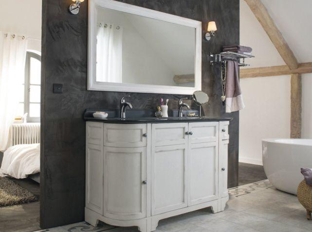Meuble vasque salle de bains a lancienne castorama plus de meuble de salle de bain