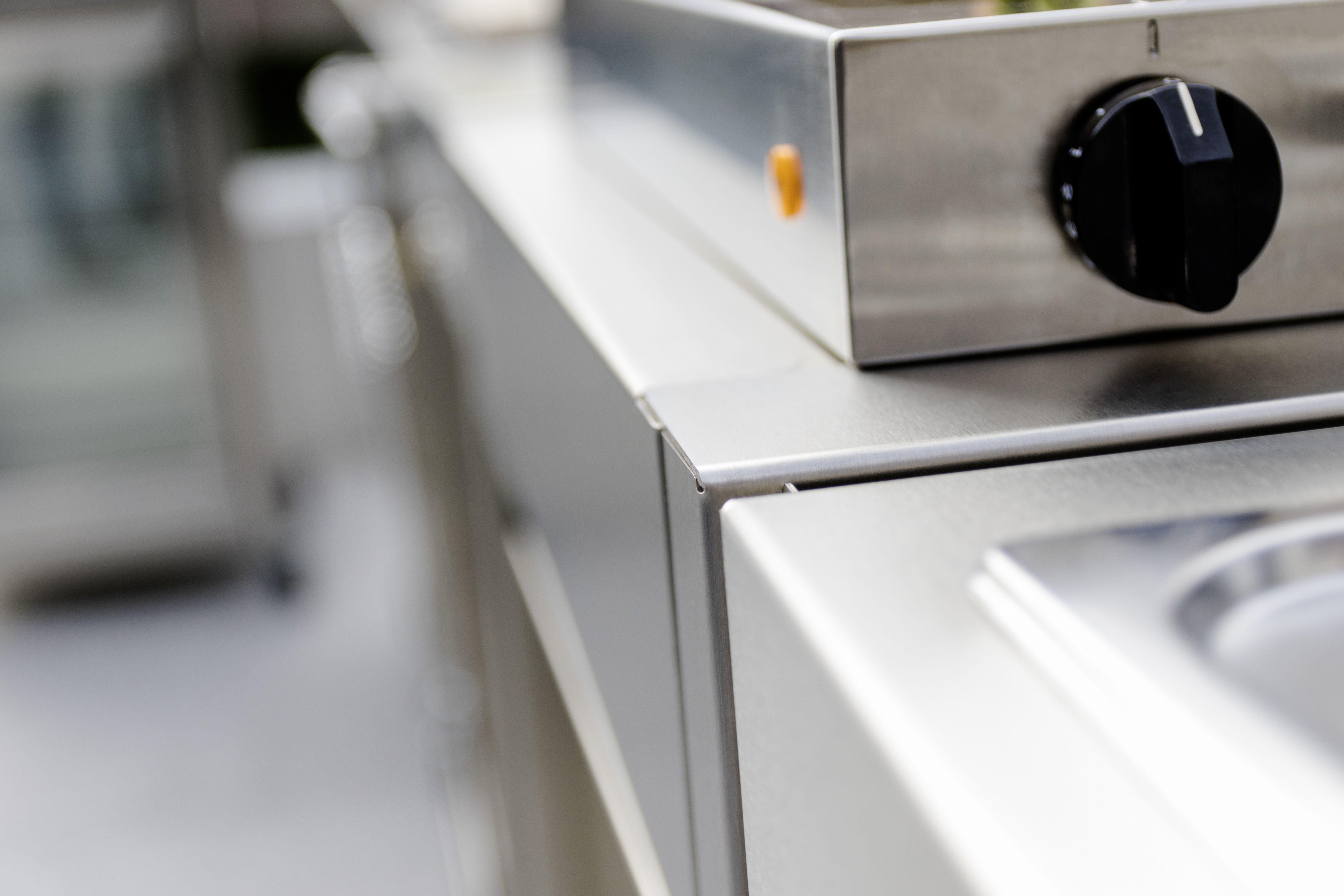 Elektrogrill Lemax Mit Küchen Modul Edelstahl Mit