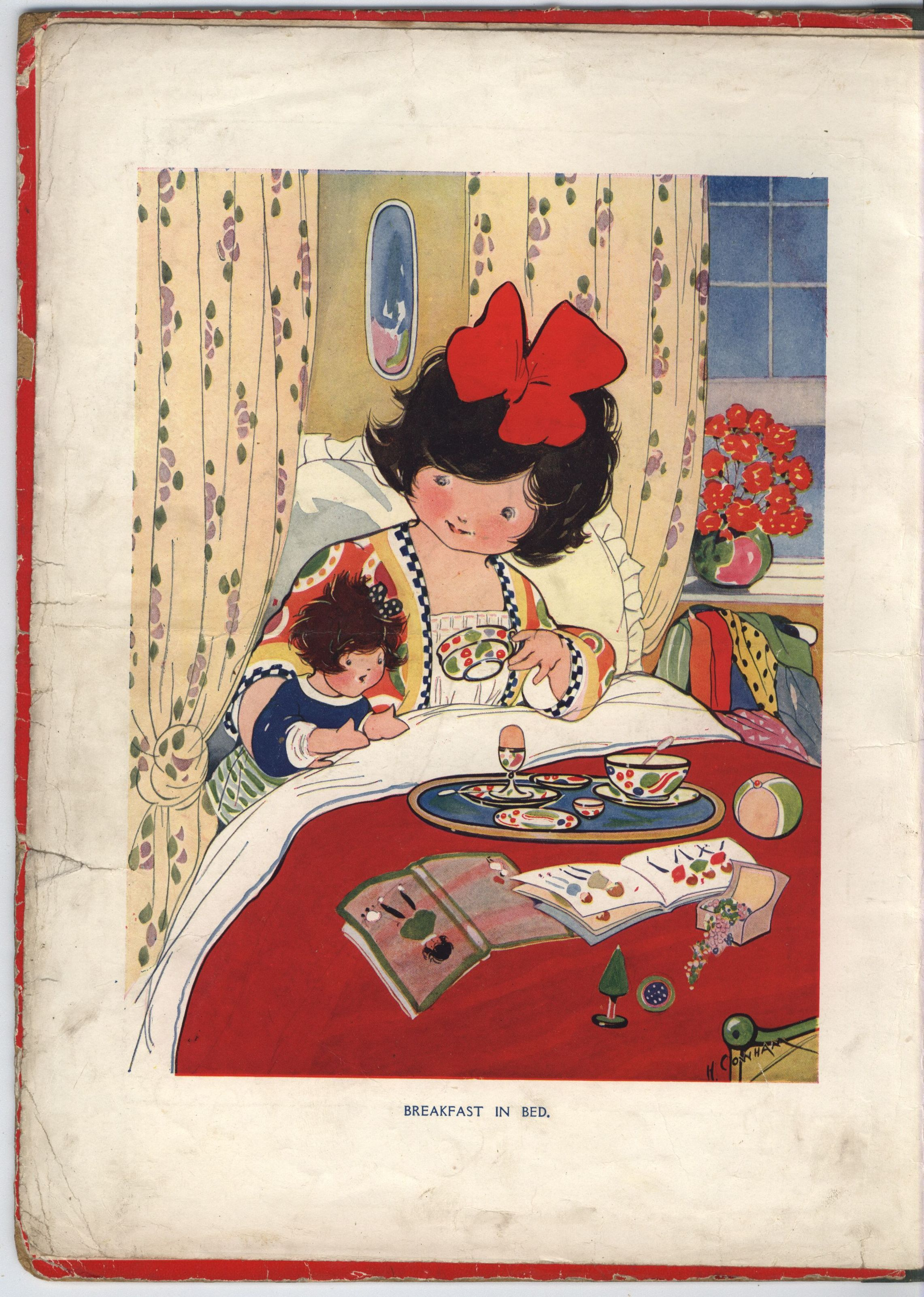 "Hilda Cowham In ""good Times Lesson Book"" Vintage Prints"