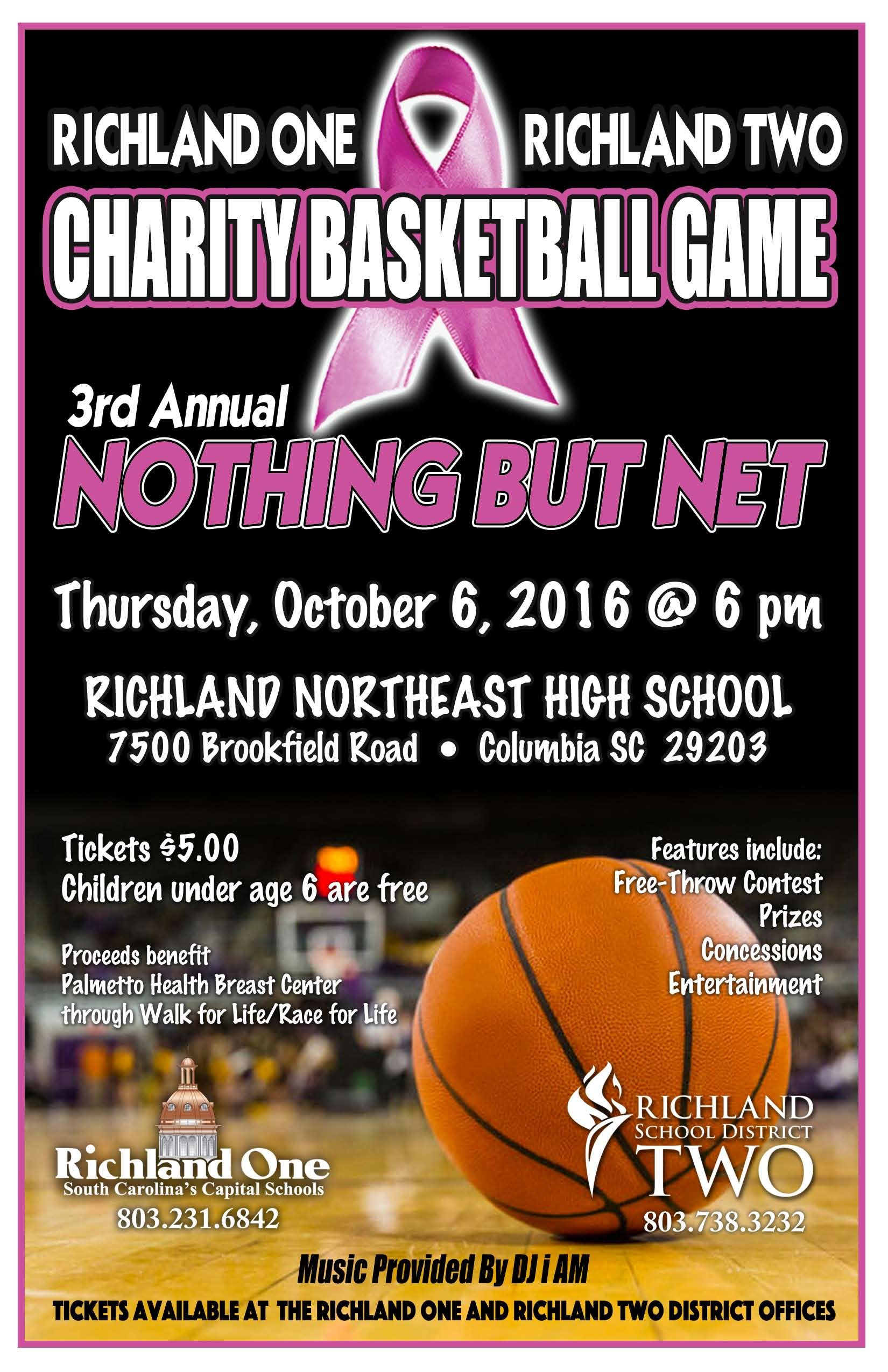 Nothing But Net Oct 6 At Richland Northeast High School High School School Richland