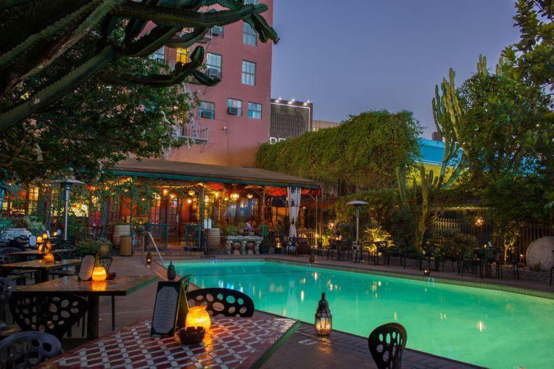 Top 10 Best Hotels For Pool Parties In La Hotel Figueroa