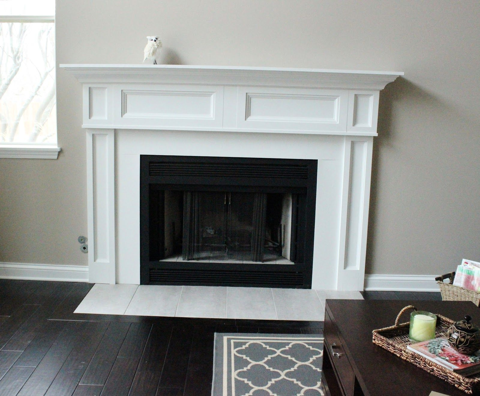 Fireplace Remodel The Before & the Happily Ever After