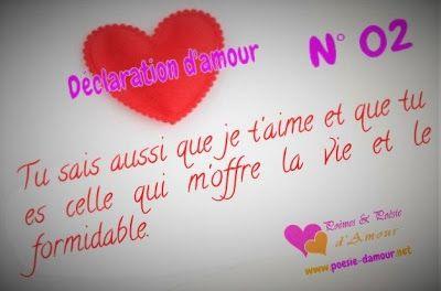 Anthologie Des Plus Belles Déclarations Damour Citations