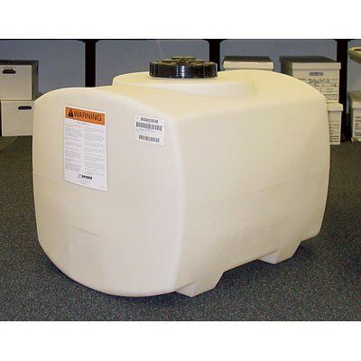 Snyder Industries Square Ended Poly Spray Tank 100 Gallon Capacity By Snyder Industries 239 99 Ribbed For Strength With Bu Sprayers Horizontal Tank Gallon