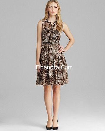 فساتين قصيرة ناعمة موضة فساتين قصيرة 2014 موديلات فساتين خروج قصيرة موضة بنوته أزياء بنوته بنوته كافيه Summer Dresses Dresses Sleeveless Formal Dress