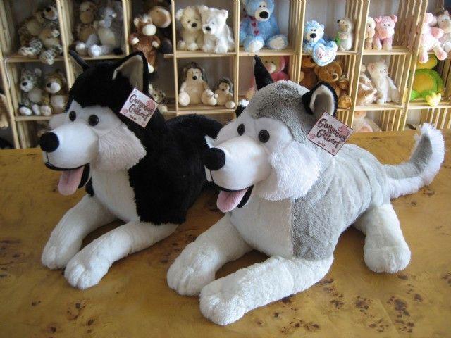 Plush Toy Dog Snow Dog Husky Sled Dogs Quality Gift Doll 29 62
