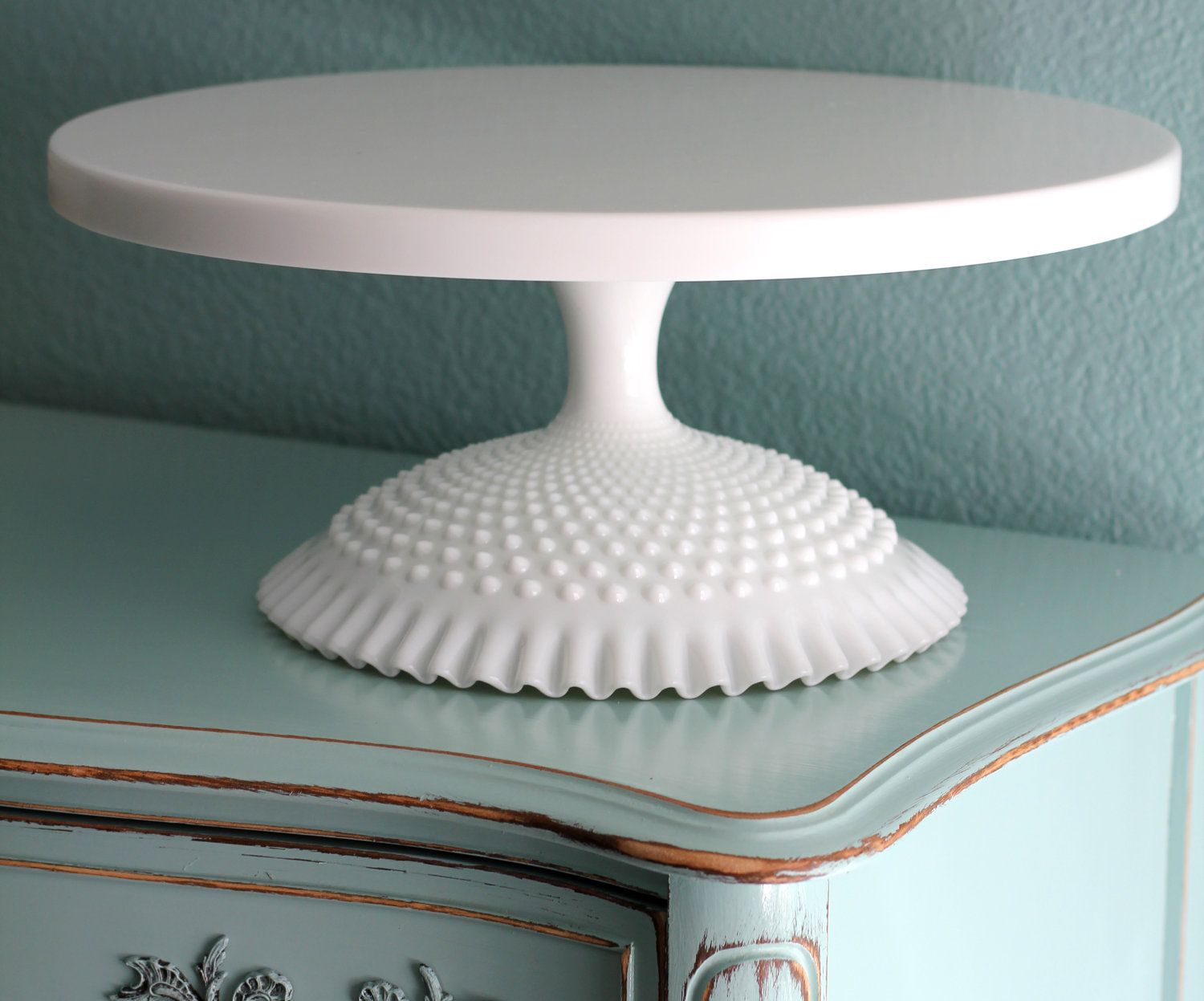 18 Wedding Cake Stand White Cake Pedestal Stand For