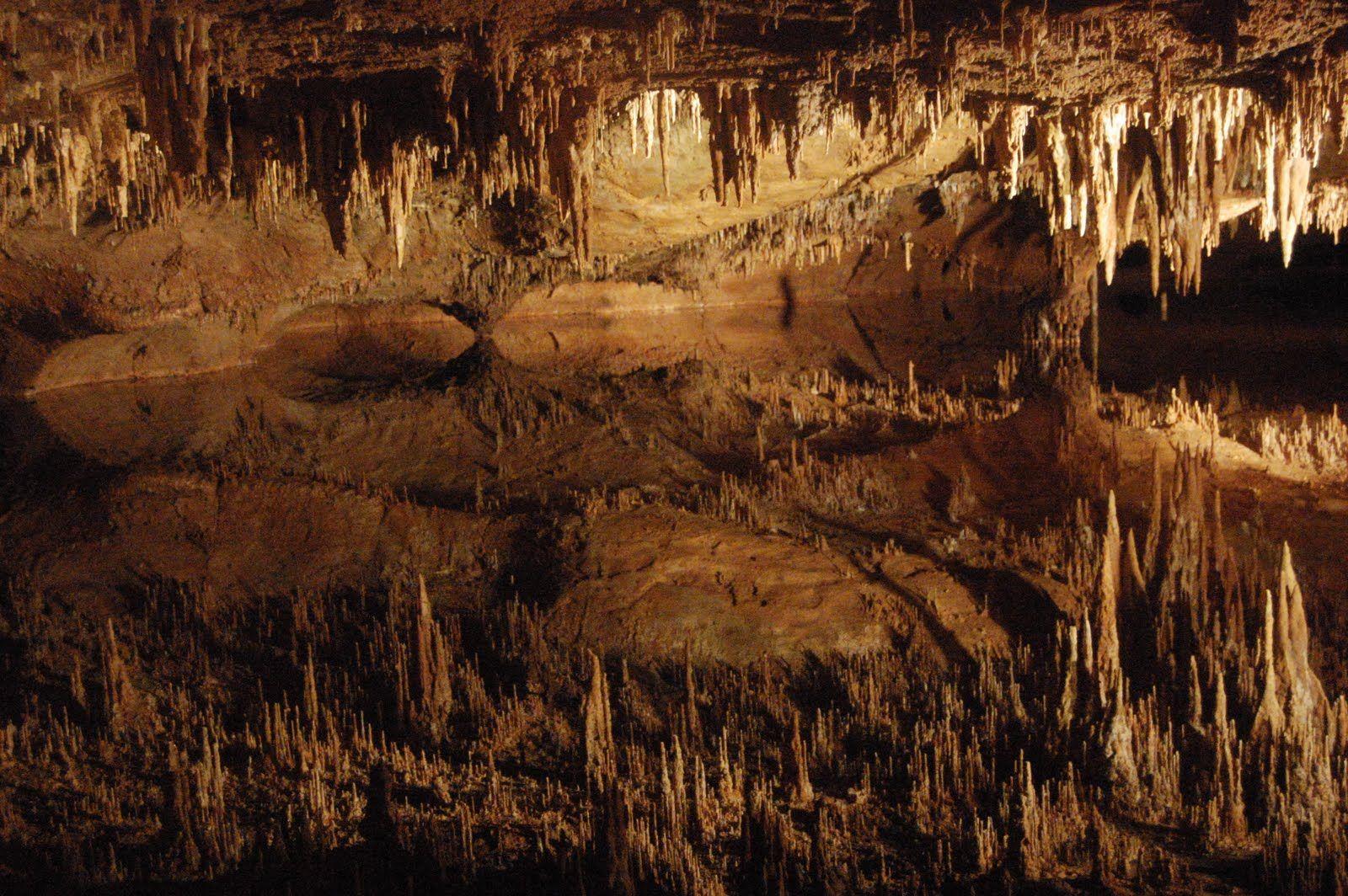 Luray Caverns, Luray, Virginia.