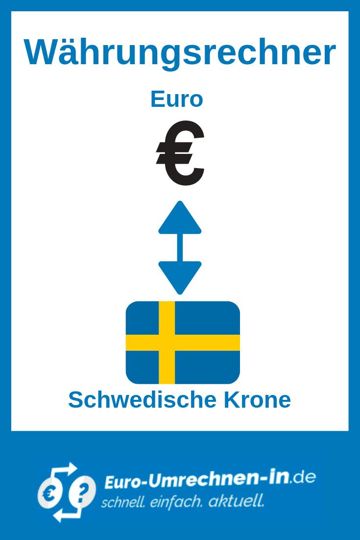 umrechnung schwedische kronen zu euro