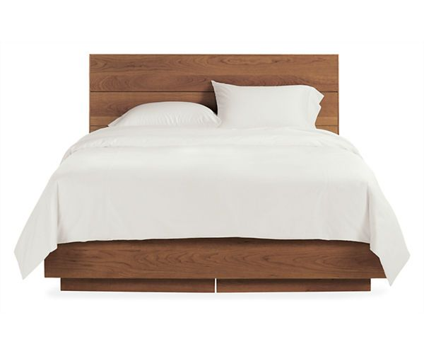 Room & Board - Hudson Queen Storage Bed--solid wood!!! | Yup ...