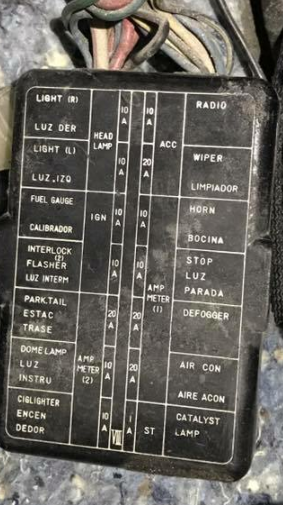 260z fuse box wiring diagram for you 260z fuse box diagram 260z fuse box [ 1125 x 2001 Pixel ]