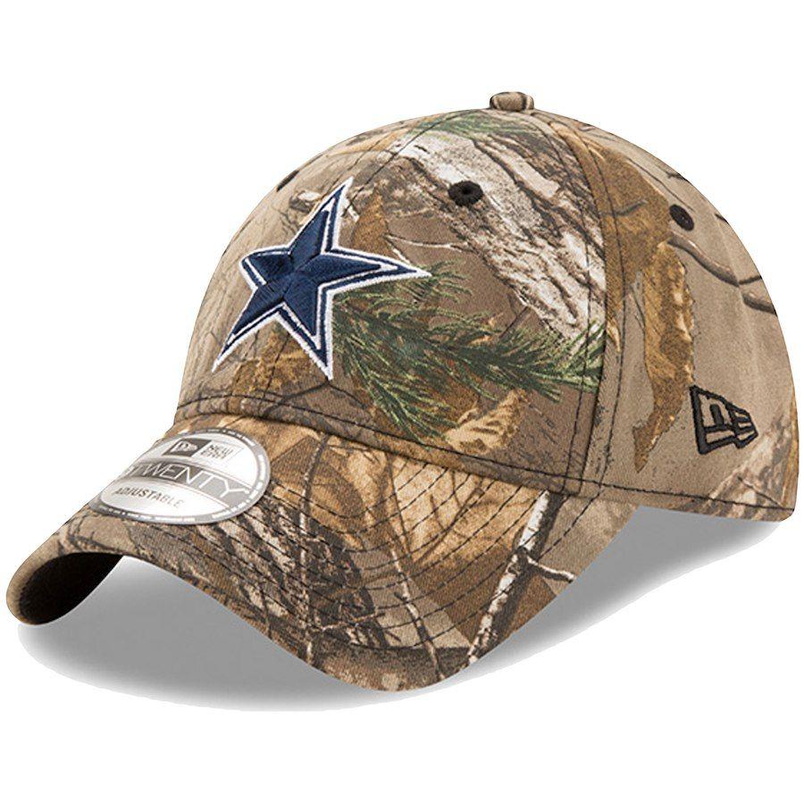 new product aa193 5fca0 Men s Dallas Cowboys New Era Realtree Camo Team Color Star Logo 9TWENTY  Adjustable Hat, Your Price   21.99