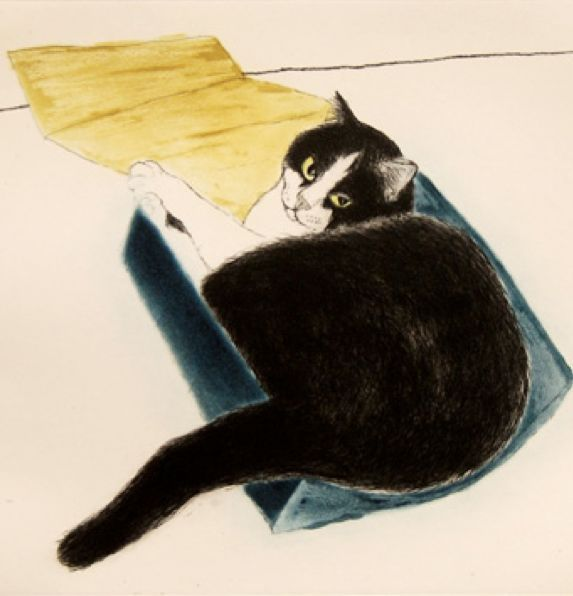 Elizabeth Blackadder (1931present, British) Feline