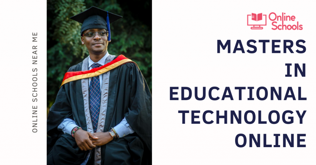 Masters In Education Technology Online In 2021 Educational Technology Education Online School