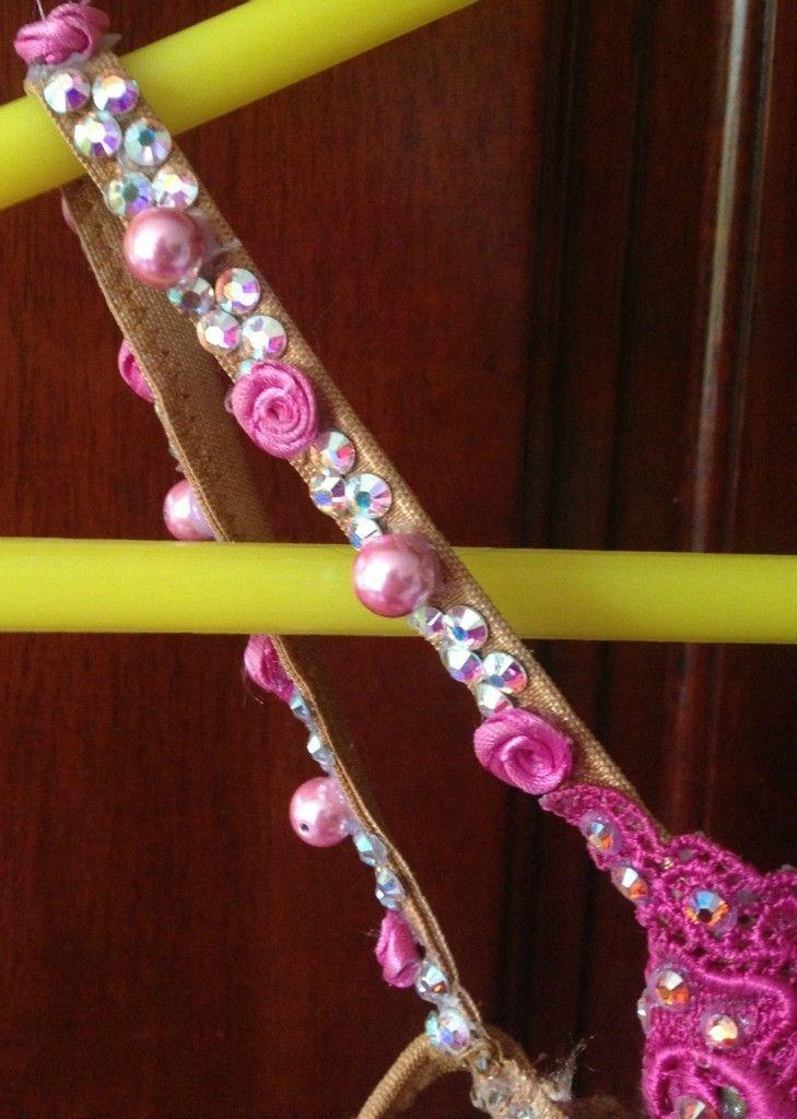 Stunning Pink Designs to Shine Rhythm Latin Dress Sz 2 8   eBay