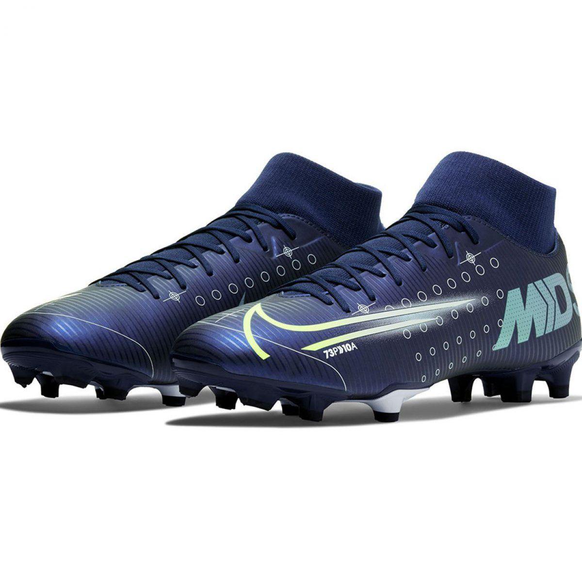Buty Pilkarskie Nike Mercurial Superfly 7 Academy Mds Fg Mg M Bq5427 401 Niebieskie Niebieskie Football Boots Mens Football Boots Football Shoes