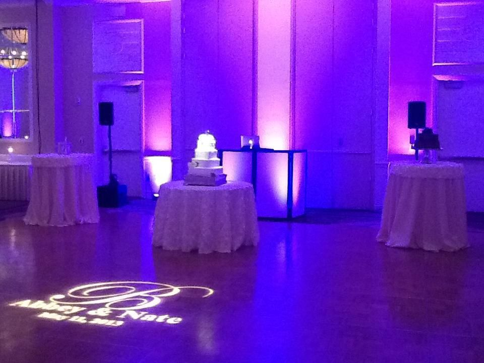 Wedding Reception Lighting - Pin Spots on the Cake Name in Lights (Gobo) & Wedding Reception Lighting - Pin Spots on the Cake Name in Lights ... azcodes.com