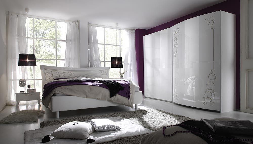 camera da letto matrimoniale completa armadio ante scorrevoli ...