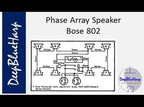 phase array speaker bose 802 bose 802 pinterest phased array rh pinterest com Bose Troubleshooting Guide Bose QC 35 Service Manual