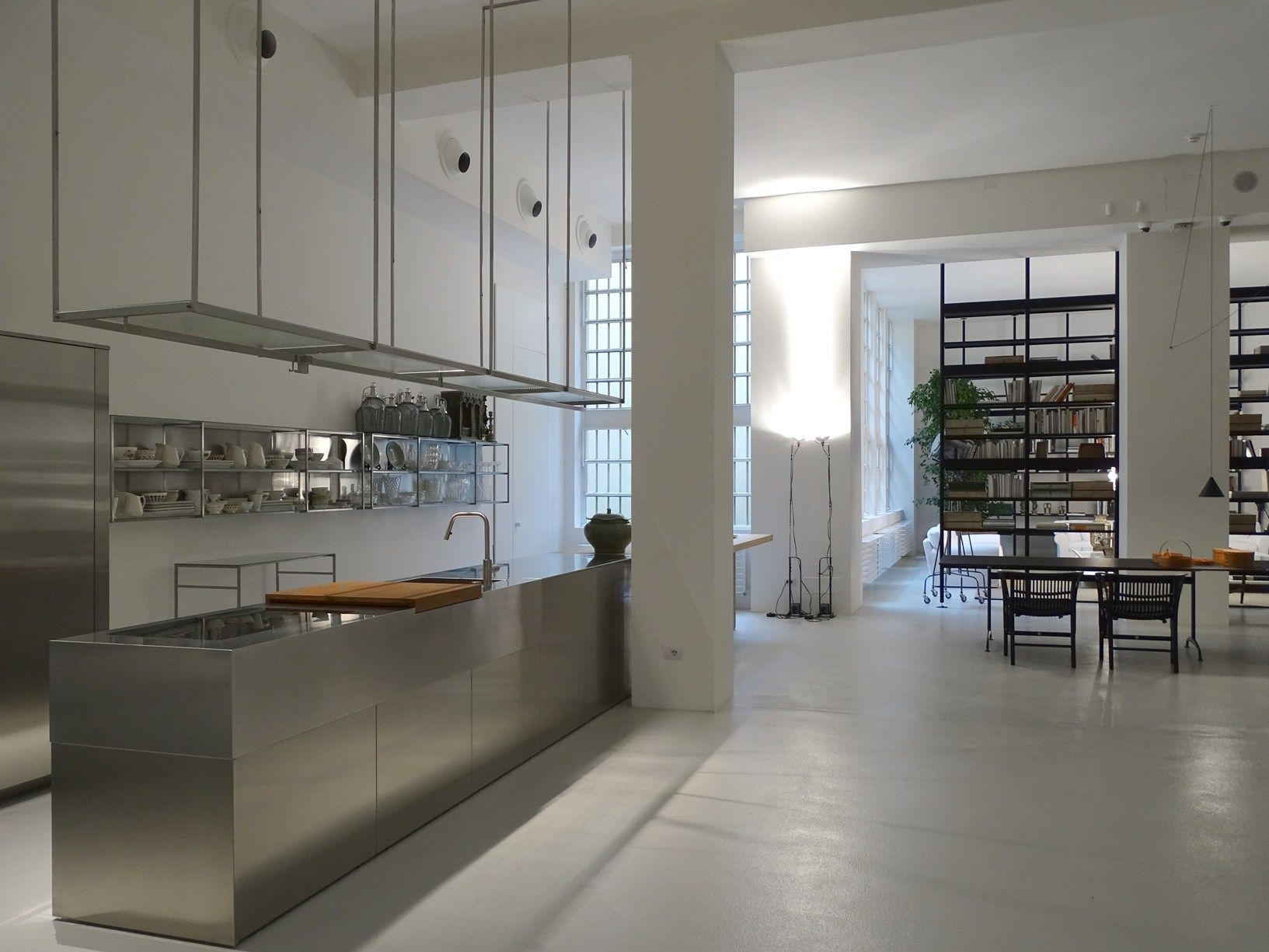Negozio de padova in via santa cecilia milano int gallery interior kitchen - Studio interior design milano ...
