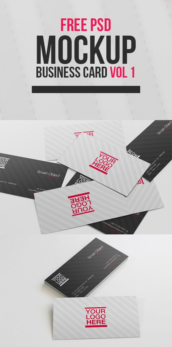 Free Business Card Mockup Free Business Cards Business Card