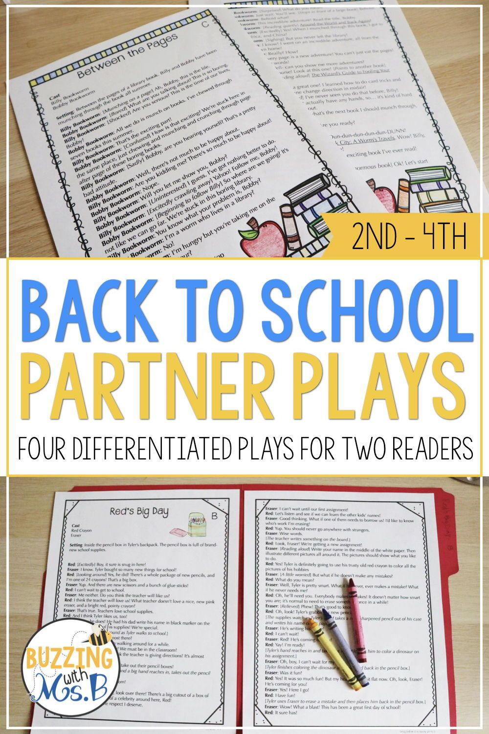 Your 2nd 3rd And 4th Grade Students Will Build Fluency And Have Fun While Reading These Reader S Theater Scripts F Partner Plays Teaching Drama School Themes [ 1500 x 1000 Pixel ]