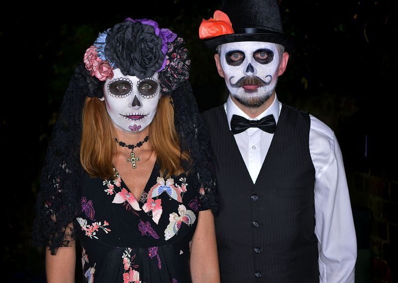 Mexican Day of the Dead Halloween costume | Halloween | Pinterest