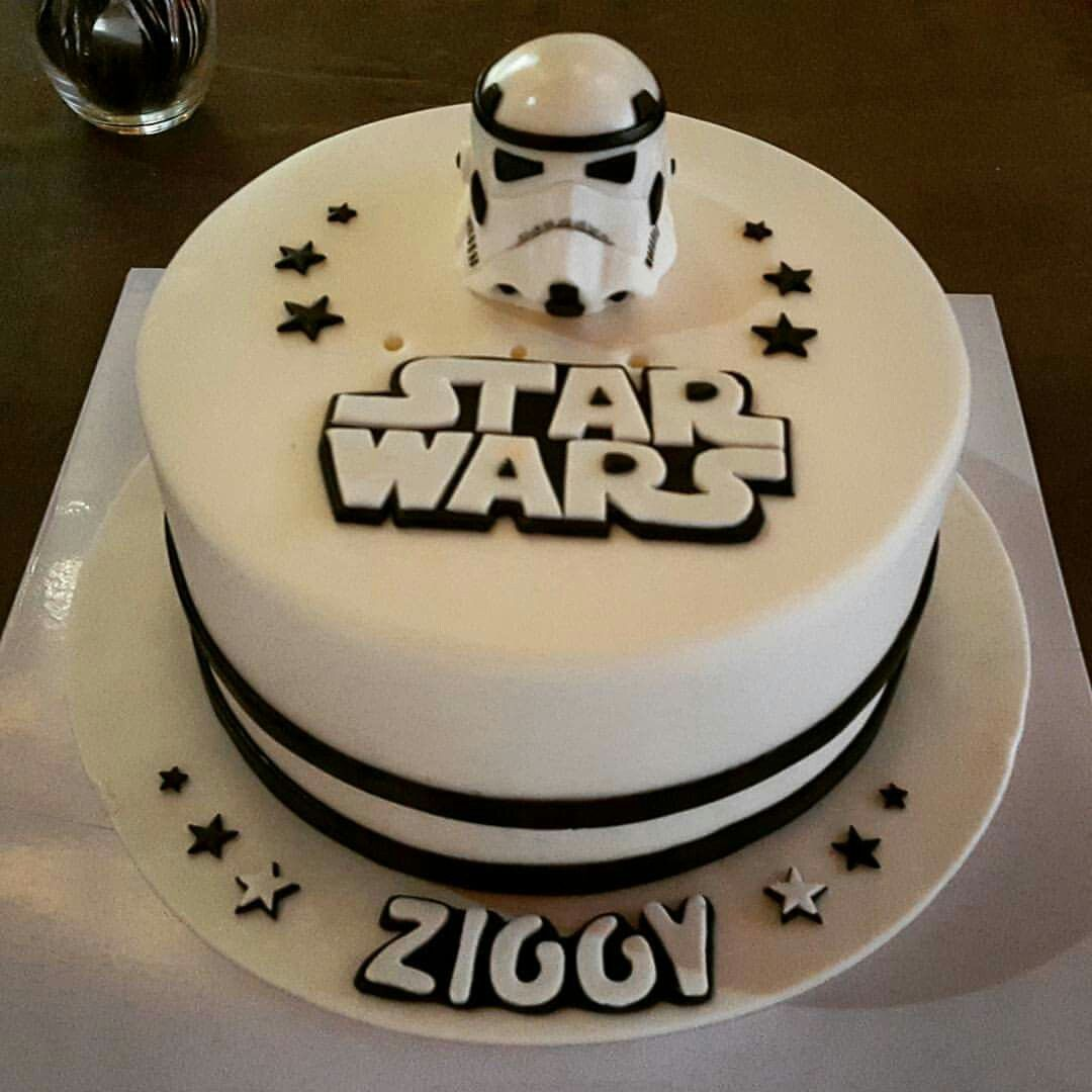 Remarkable Star Wars Stormtrooper Cake Star Wars Birthday Cake Star Wars Birthday Cards Printable Giouspongecafe Filternl