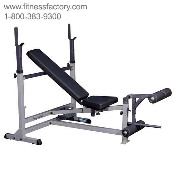 Body Solid Powercenter Bench Gdib46l Get A Total Body