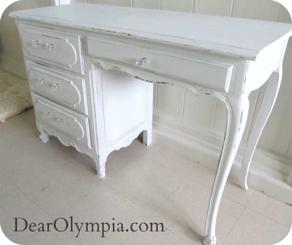 Picket Fence Dear Olympia Painted Furniture Shabby