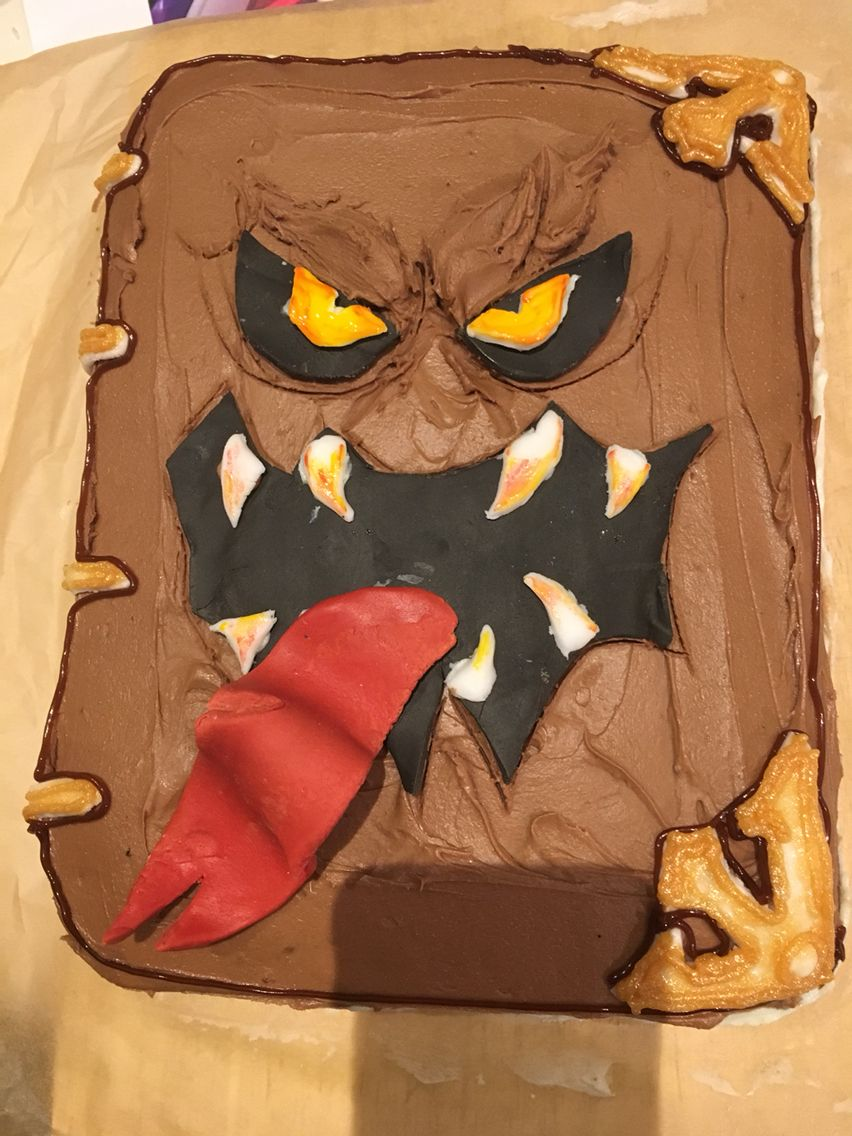 Lego Nexo Knights Monster Book Of Monsters Cake Monster Book Of Monsters Knight Party Monster Cake