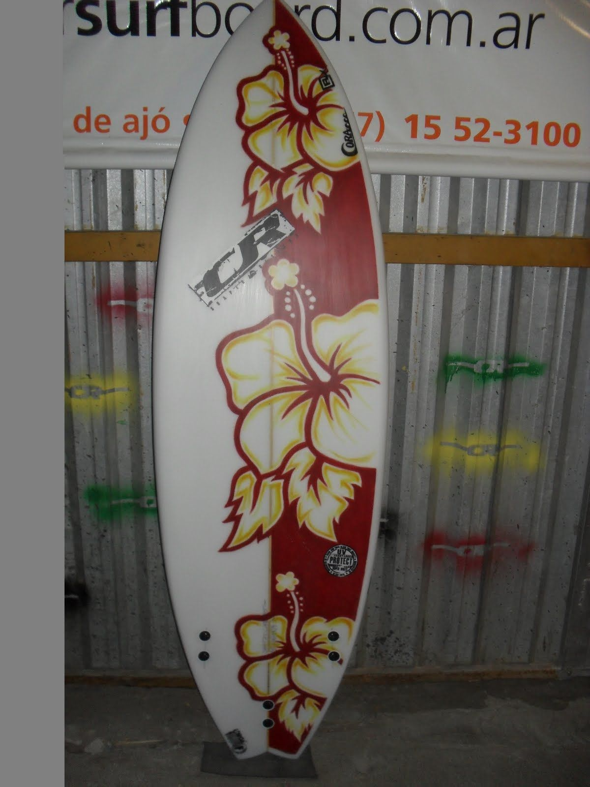 painted+surfboards | SURFBOARD HAND PAINT ART BY CORA FERNANDEZ ...