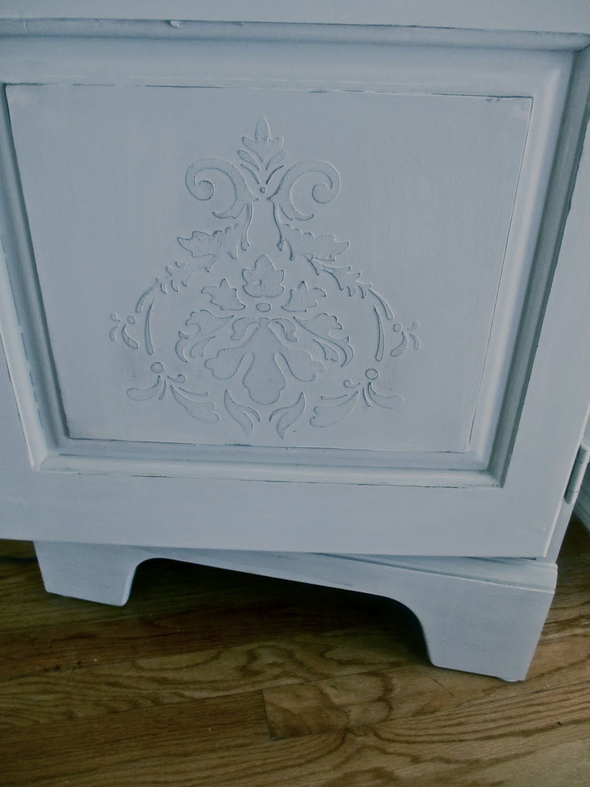 image stencils furniture painting. How To Dress Up Furniture With Raised Stencils | DiMonti\u0027s Decorative Finishes Image Painting E